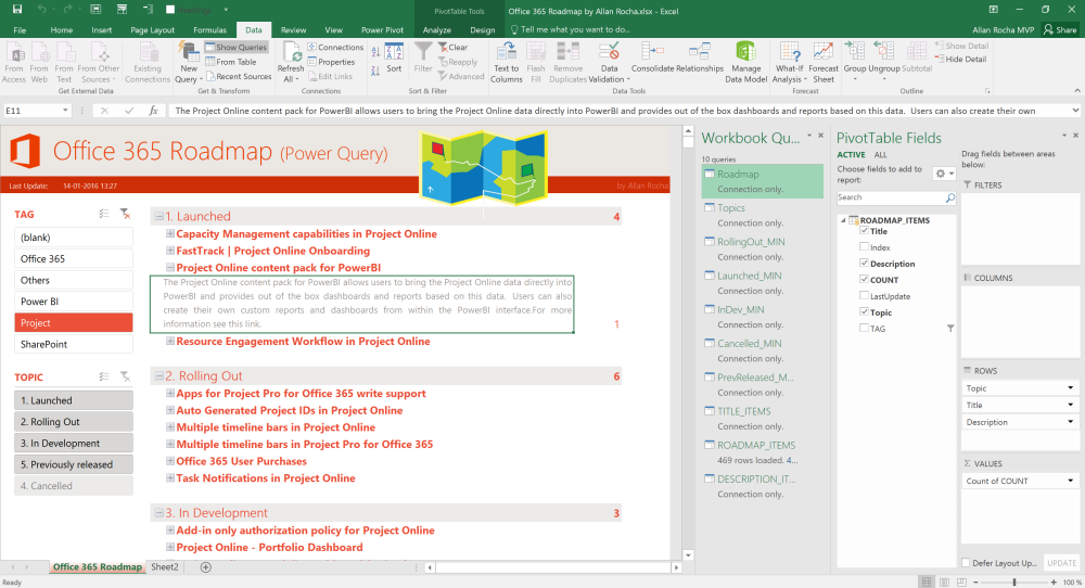 Office 365 roadmap using excel power query and power bi ppm4all 2016 01 1420 38 34 publicscrutiny Images