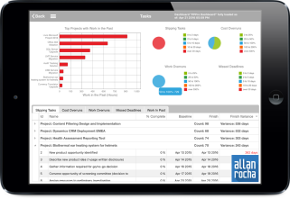 Office 365 Project Portfolio Dashboard iPad App 04