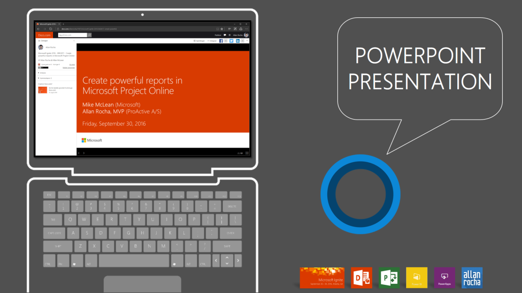 create powerful reports in microsoft ppm powerpoint presentation