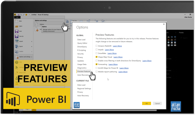 How to enable preview features in Power BI? – ppm4all
