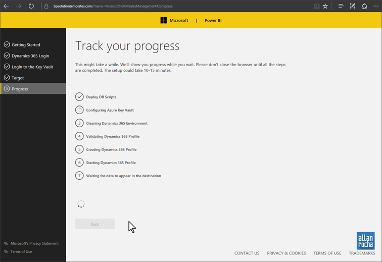 Connecting Power BI to Dynamics 365 CRM – Solution Template