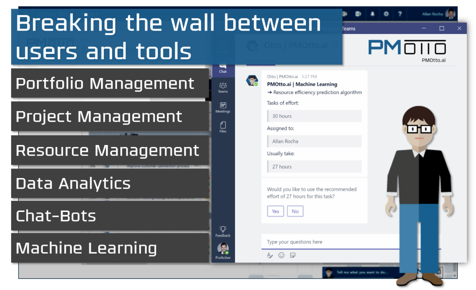Breaking the wall between users and tool - article